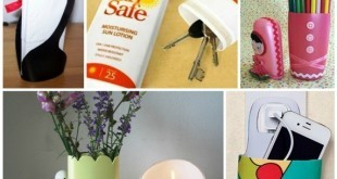 diy crafts from recycled shampoo bottles