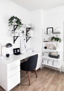 Increase Your Productivity Through Inspirable Home Office,  15 Clever Home Office Ideas You Must See