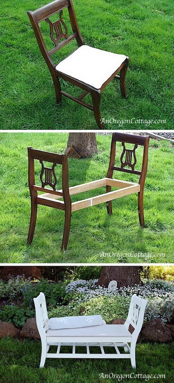Give A Second Chance To Your Old Furniture. 13 Super Clever Ideas For Recycling The Furniture.