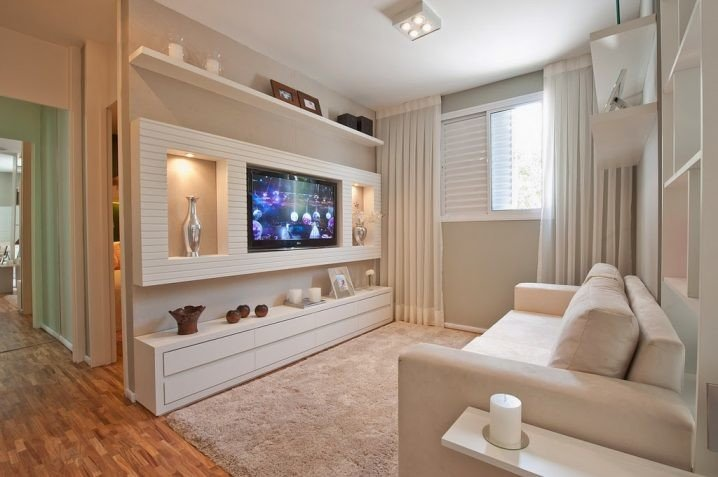 Wall Mounted TVs as an Living Room Decor. 15  Inspirations For Modern Look It is The Living Room Next For Designing.