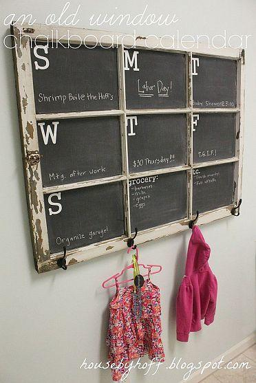 Using Chalkboard As A Home Decor: 13 Different Cool DIY Ideas