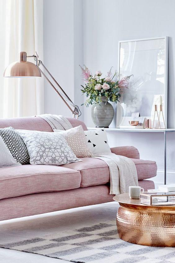 Blush, Gray And Copper: Ultimate Trend For Home Decor