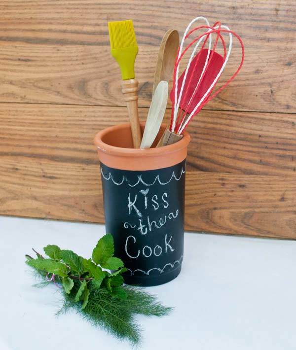 Using Chalkboard As A Home Décor: 13 Different Cool DIY Ideas