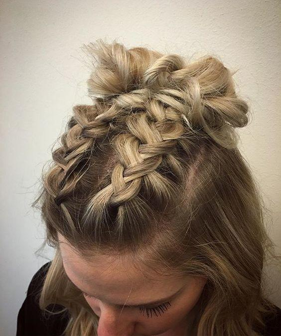 Double The Fun: Two Hair Buns, The Last Super Charming Hair Trend