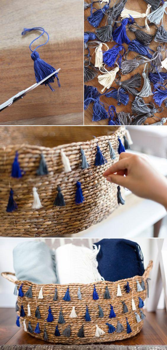 DIY Basket: 8 Extra Easy Ways To Do It
