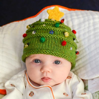 Knitted Baby Sets For Christmas