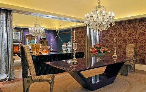 Dining Room For The Ones With Ultra Modern Taste