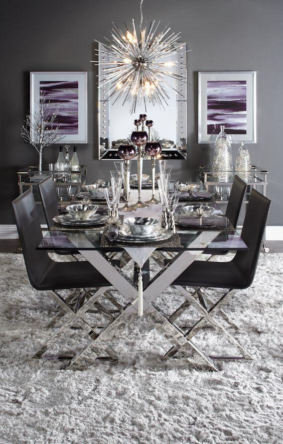 Dining room for the ones with ultra modern taste world for Ultra modern dining room