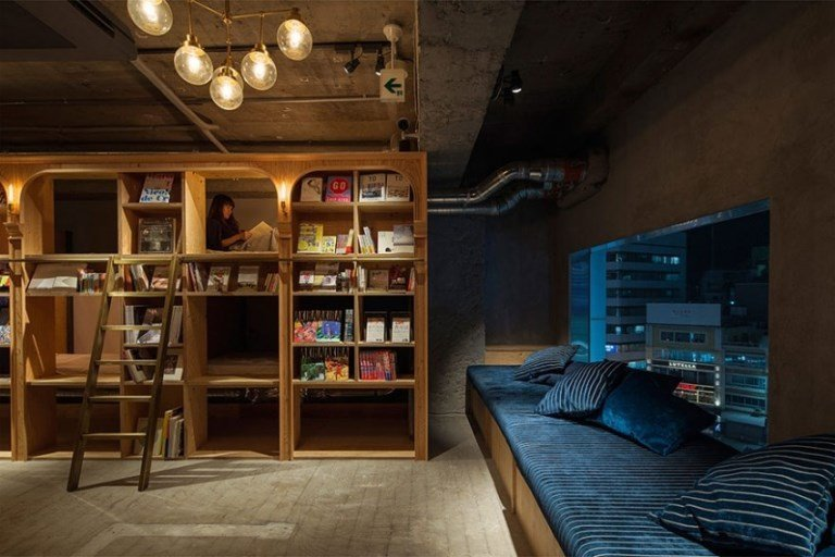 Paradise For The Book Lovers and Travelers: Bad And Book Hostel