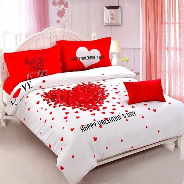 Valentines day bedroom decorating ideas