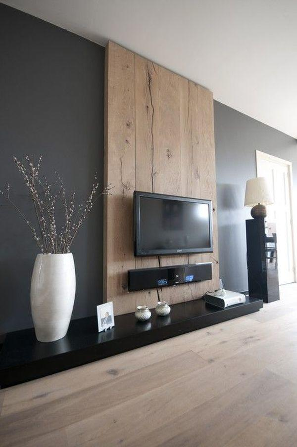 ... Classic Interior Trend-Wooden Wall For Flat Screen TV - deannetsmith