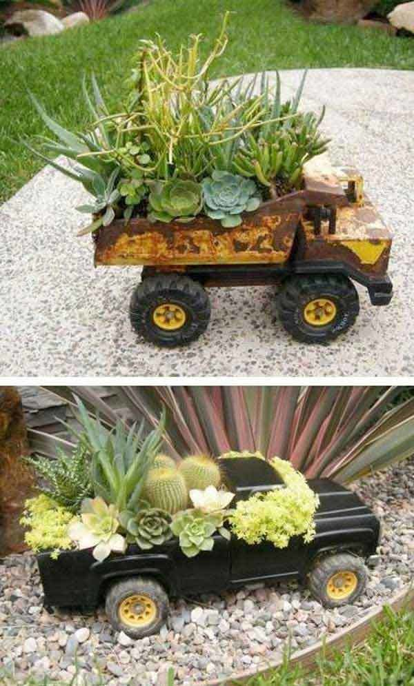 15 Creative DIY Flower Pots  World inside pictures