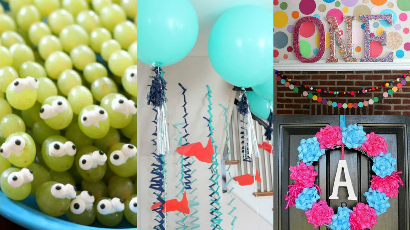 Diy Birthday Decorations 10 Amazing Diy Kids Birthday Decorations World Inside Pictures