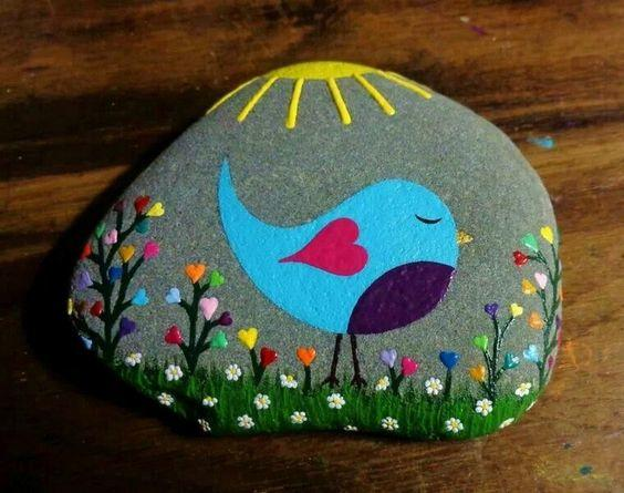 Home Decorating Ideas Painted Rocks For Amazing Home And