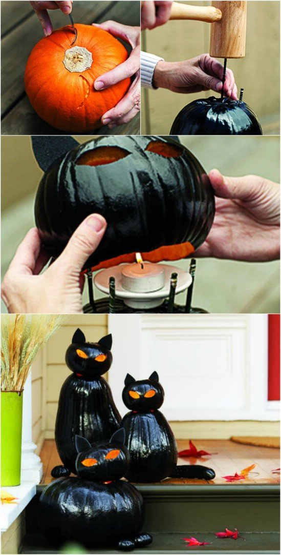 14 Interesting DIY Halloween Home Decorations   World inside pictures