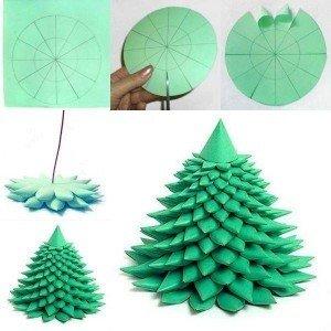 Unique Paper Christmas Tree