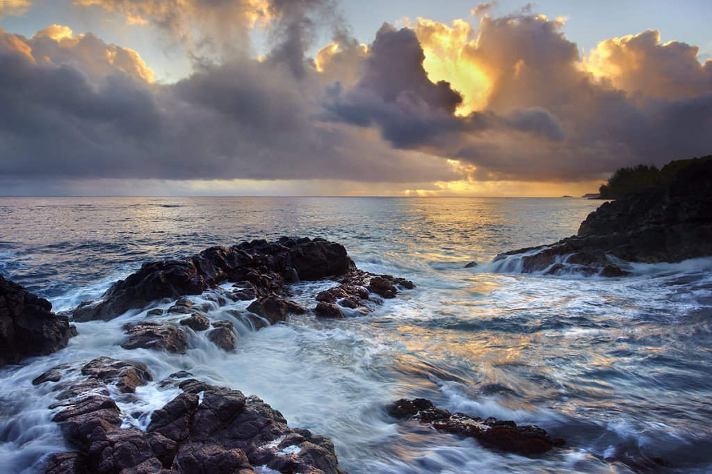 View to Kilauea - Kauai, Hawaii