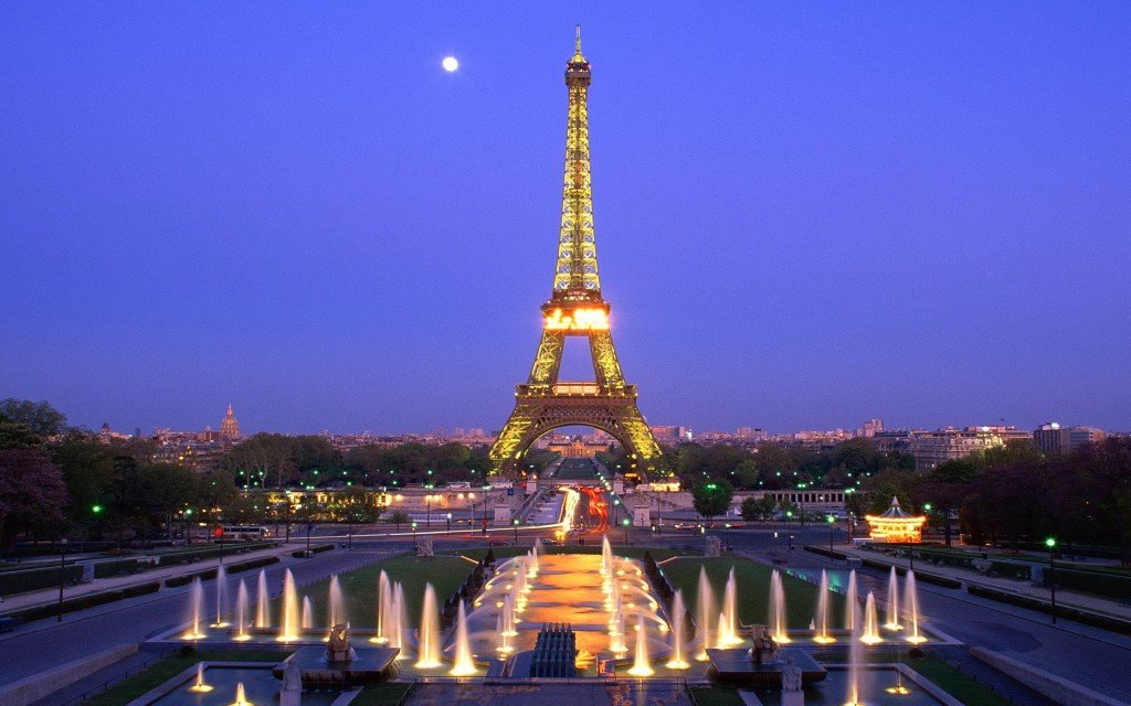 Eiffel-Tower-Night-Fountain-Paris-France