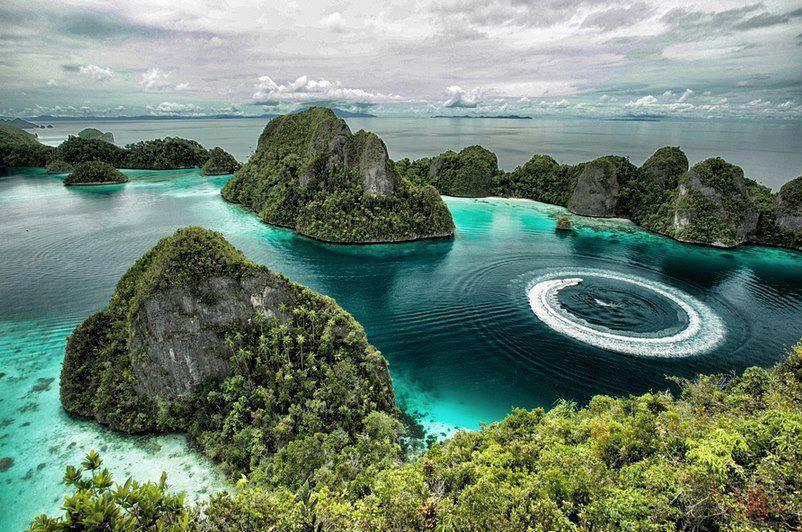Raja Ampat Islands in Indonesia