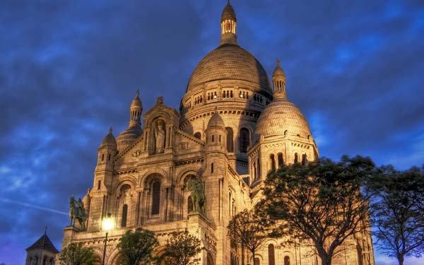 Sacre-Coeur-Night-Paris-France