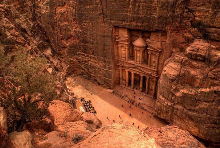 The City Of Petra, Jordan