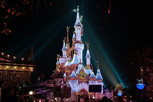 Disneyland, Paris-Disneyland at night tourism destinations