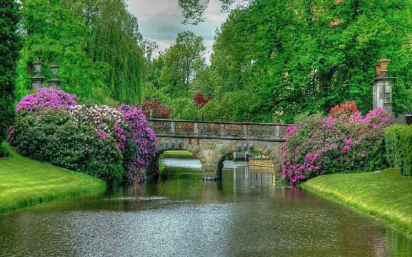 Nature The Most Beautiful Of World Garden Bridge 393688