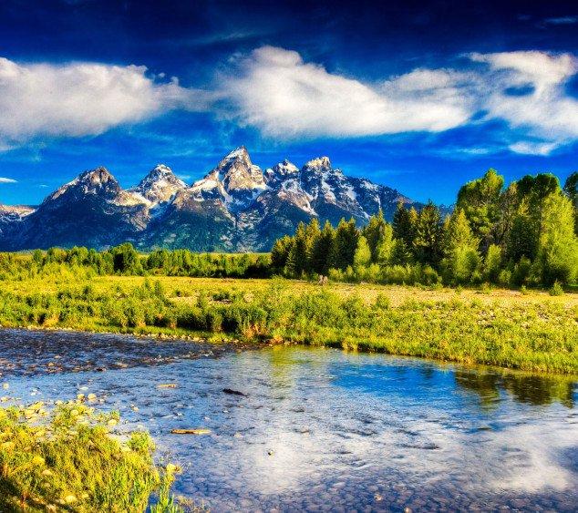beautiful mountain lakes in the world