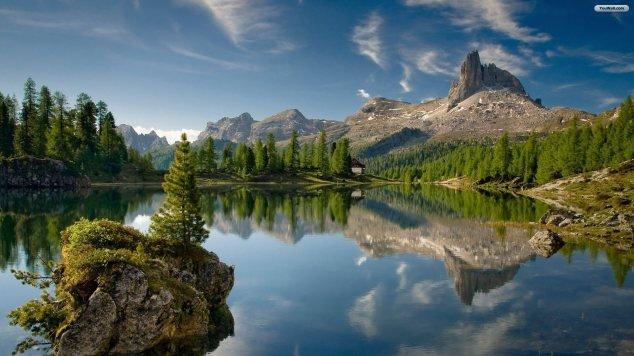 lakes on mountains