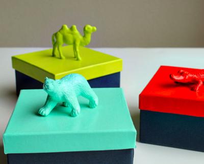 animal favor boxes