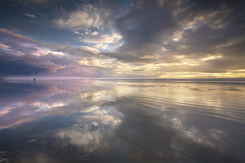 Walking on Glass #1 - Pismo Beach, California