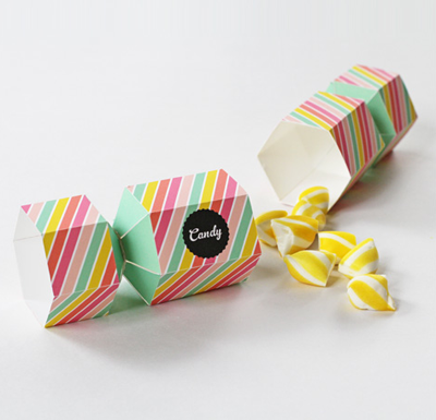 candy favor box