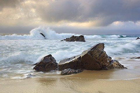 Garrapata Surf #4 - Big Sur, California