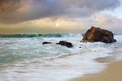 The Curl - Big Sur, California