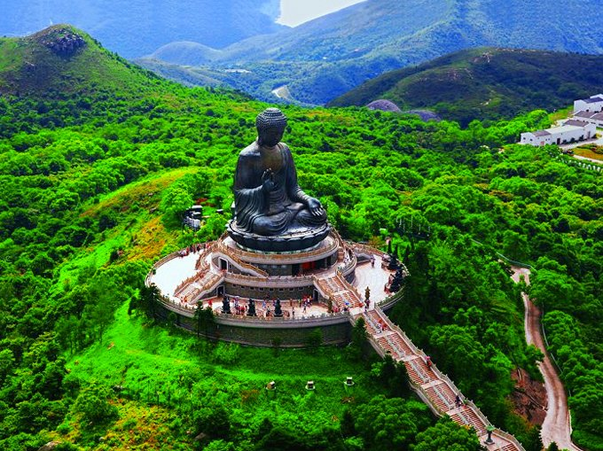 1 Tian Tan Buddha On Lantau Island Hong Kong