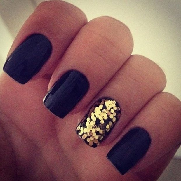 golden-gliter-nail-art-18