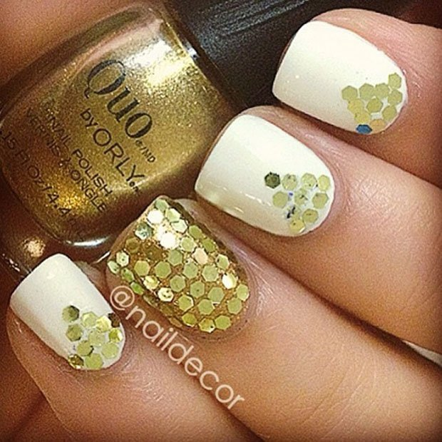 golden-gliter-nail-art-27