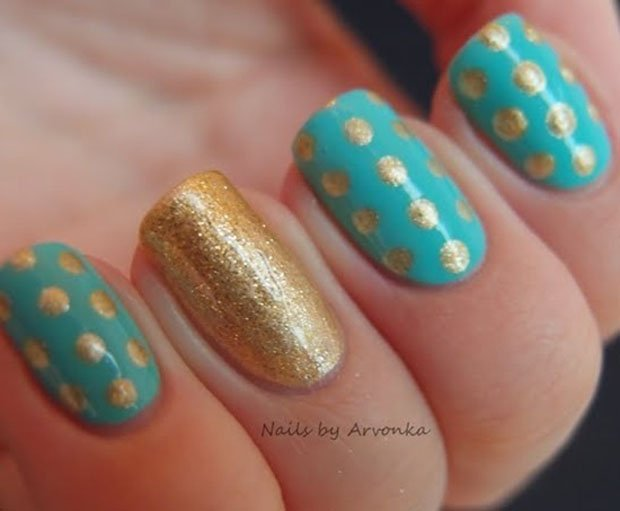 golden-gliter-nail-art-28