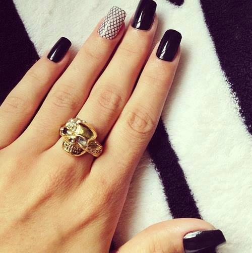 32 Simple And Cute Nail Art Designs World Inside Pictures