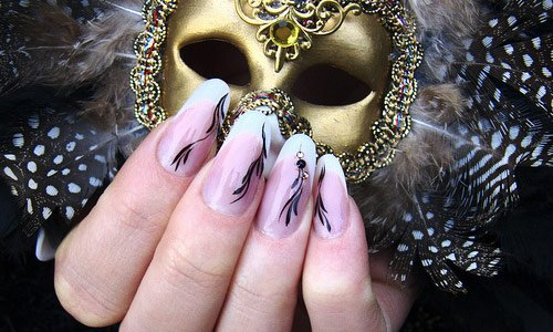 34-the-mask-nail-art