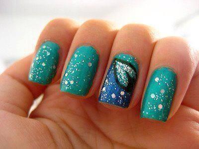 cute design nails