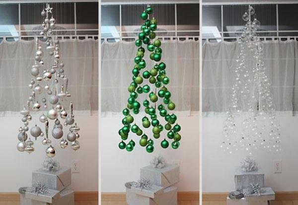 wrapping paper christmas tree - Ideas For Decorating For Christmas Inside