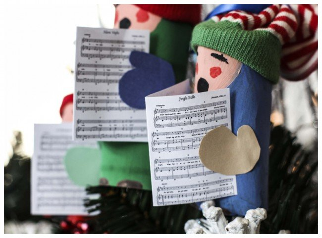 christmas things to make from toilet rolls