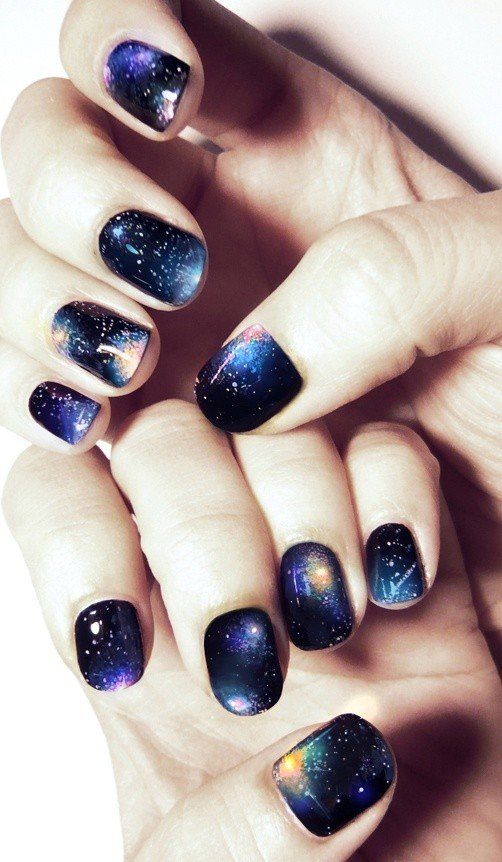 33 Nail Art Design For New Year\'s Eve | World inside pictures