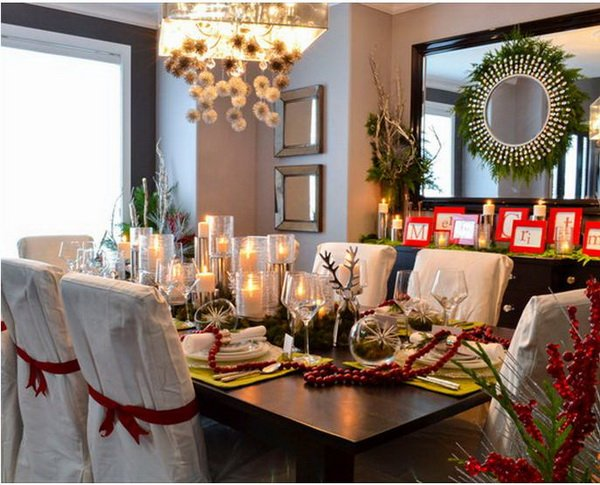 Modern Christmas Table Decorations For 2012 02