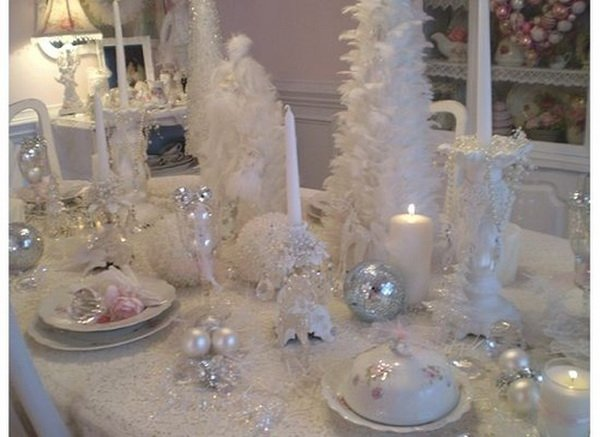 Modern Christmas Table Decorations For 2012 11