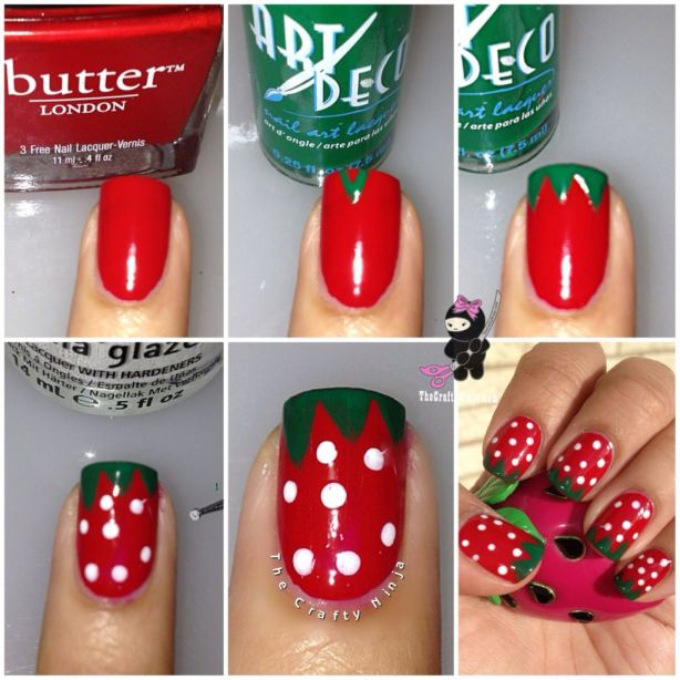 Strawberry-Nails