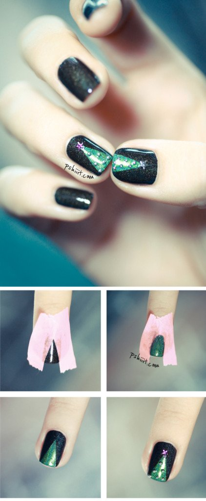 christmas-tree-nail-art1