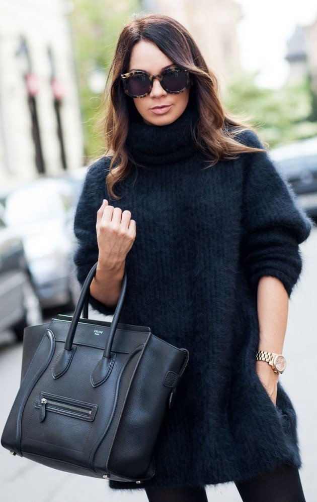 18 street style ideas with sweater dresses world inside