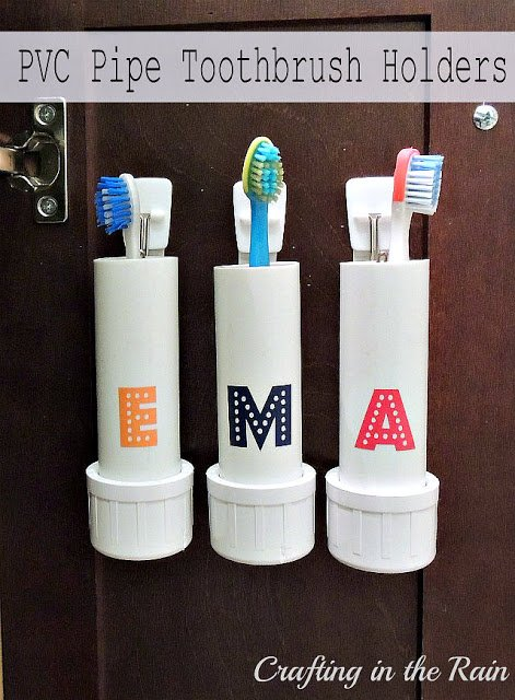 pvc-toothbrush-holders
